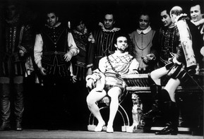 Сцена из оперы «Риголетто», Герцог — Анатолий Пономарёв (Санкт-Петербург), 1992 год