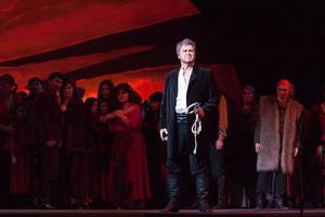 Сцена из оперы «Алеко». Алеко — Сергей Лейферкус (Мариинский театр), 2010 год