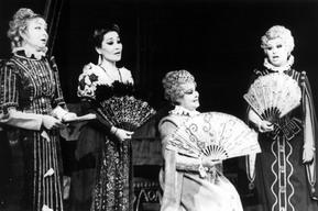 Сцена из оперы «Дон Карлос», Елизавета — Наталья Дацко (Украина), 1994 год