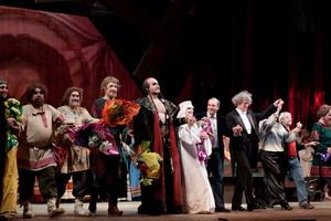 «Князь Игорь». Поклоны после премьеры спектакля, 2010 год