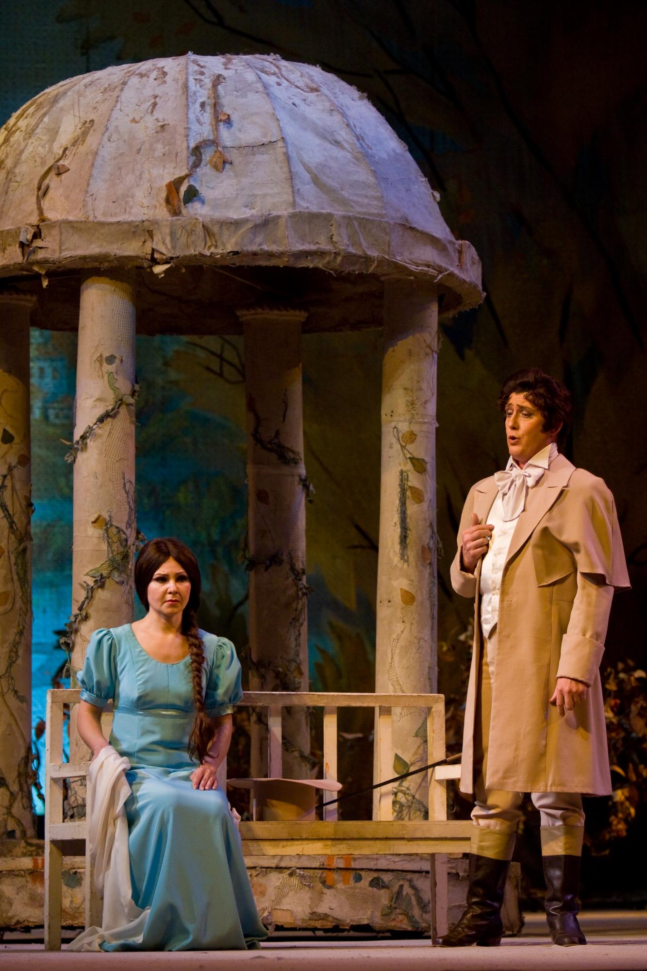 Схема зала театра оперетта